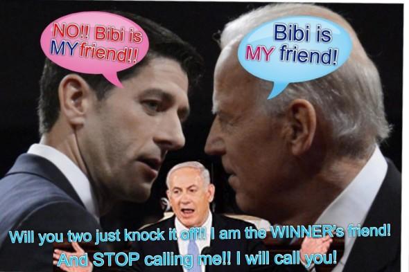 Bibi, Bibi, Bibi Netanyahu
