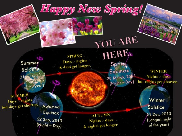 Happy New Spring. Happy New Life.