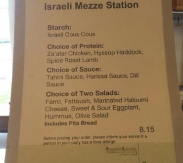 That Famous Israeli Mezze Station: Harvard Business School