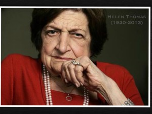 Helen Thomas portrait
