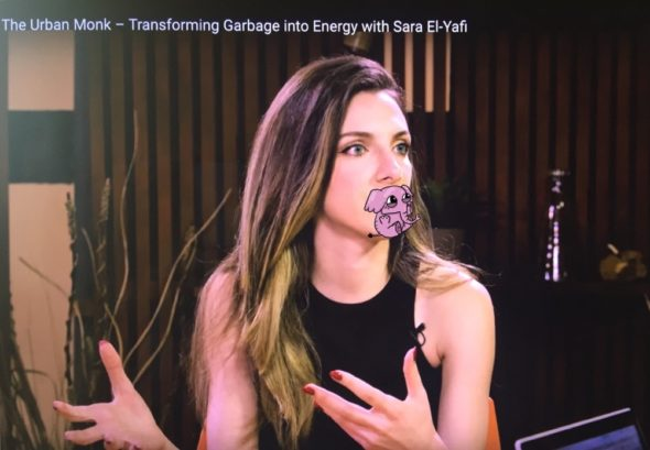 "Sara El-Yafi featured on ""The Urban Monk"" Podcast: Turning Garbage into Energy"